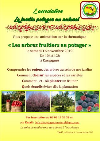 L arbre fruitier